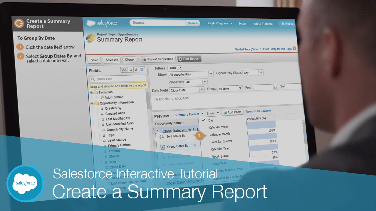 Create a Summary Report