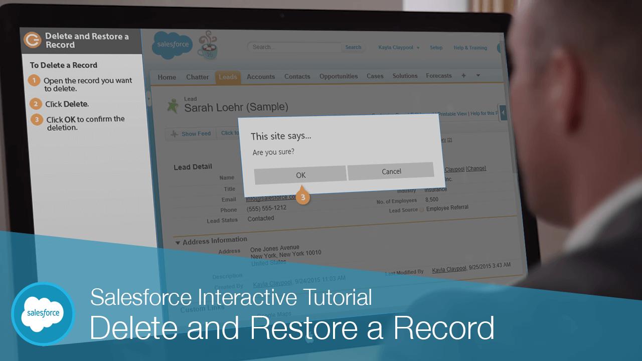Delete and Restore a Record