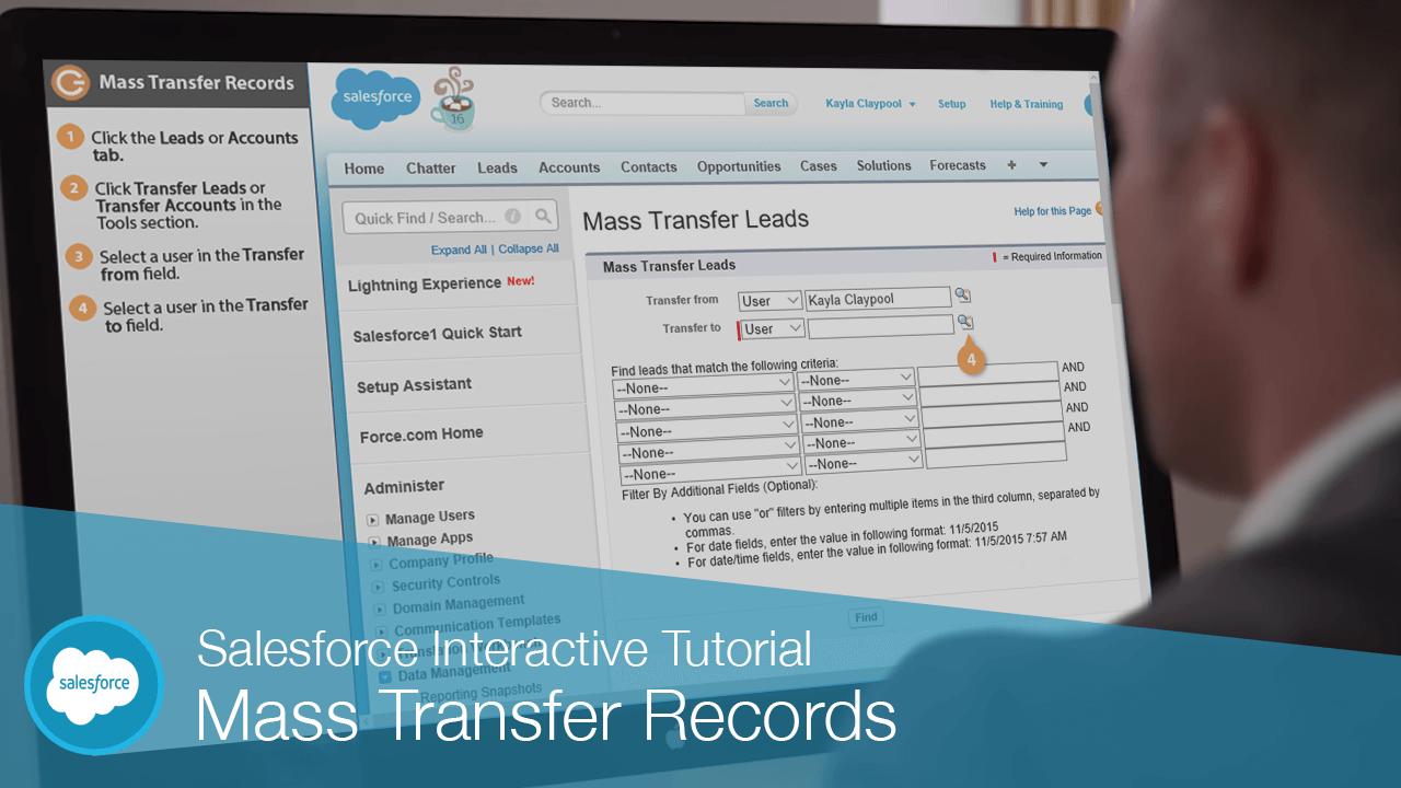 Mass Transfer Records