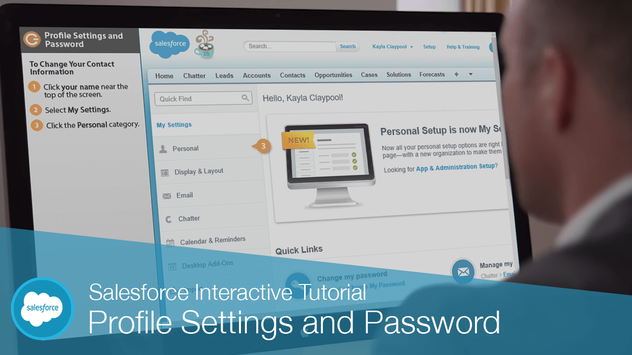 Profile Settings and Password