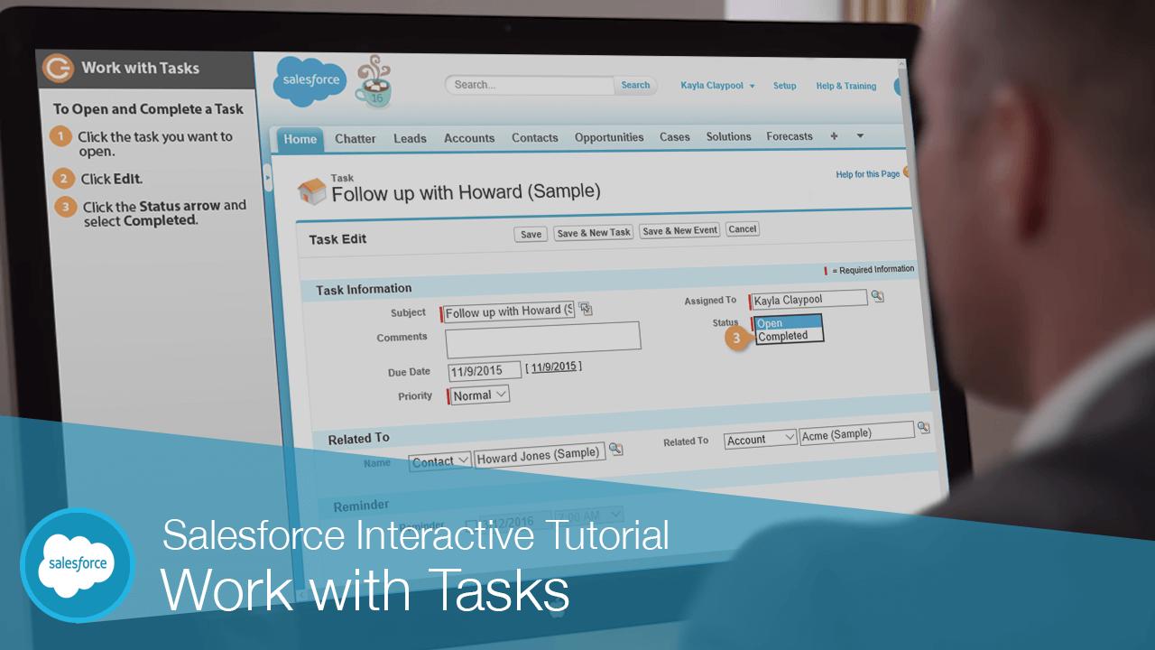 Work with Tasks