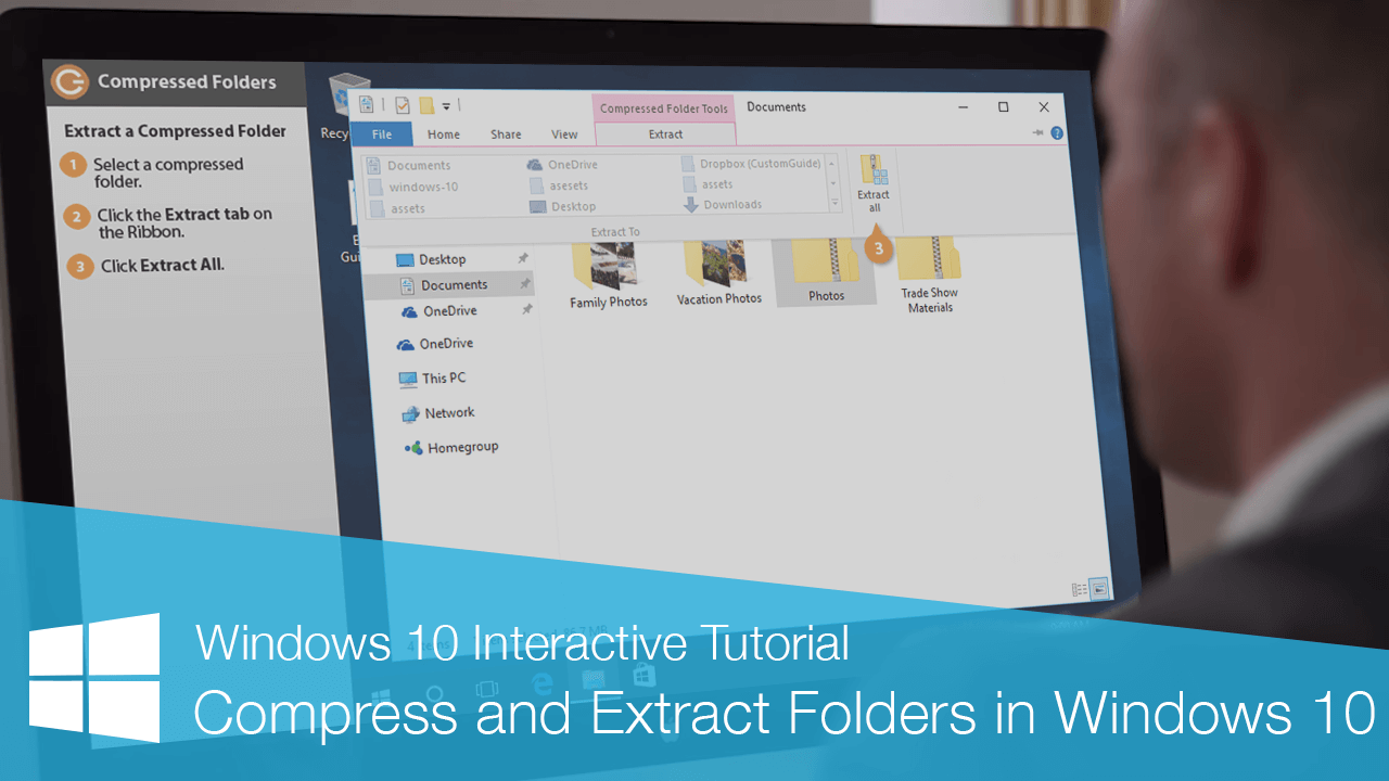 Compress and Extract Folders in Windows 10