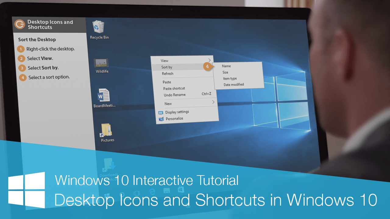 Desktop Icons and Shortcuts in Windows 10