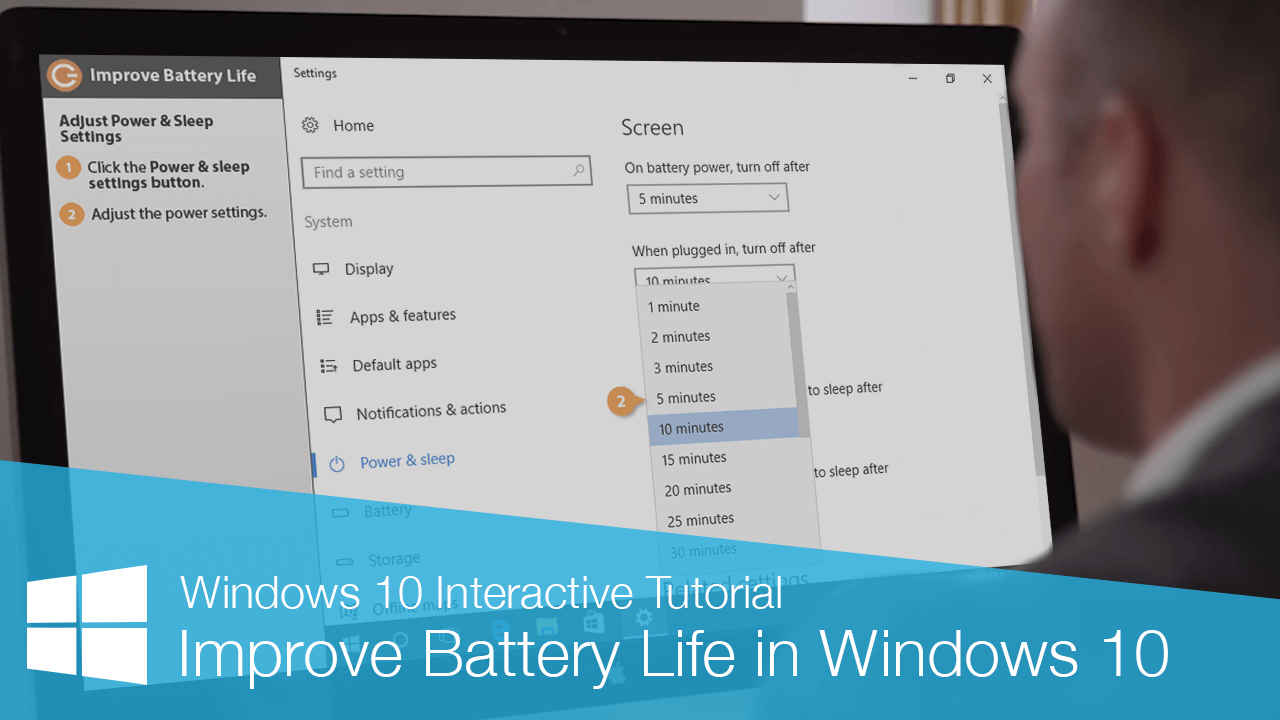 Improve Battery Life in Windows 10