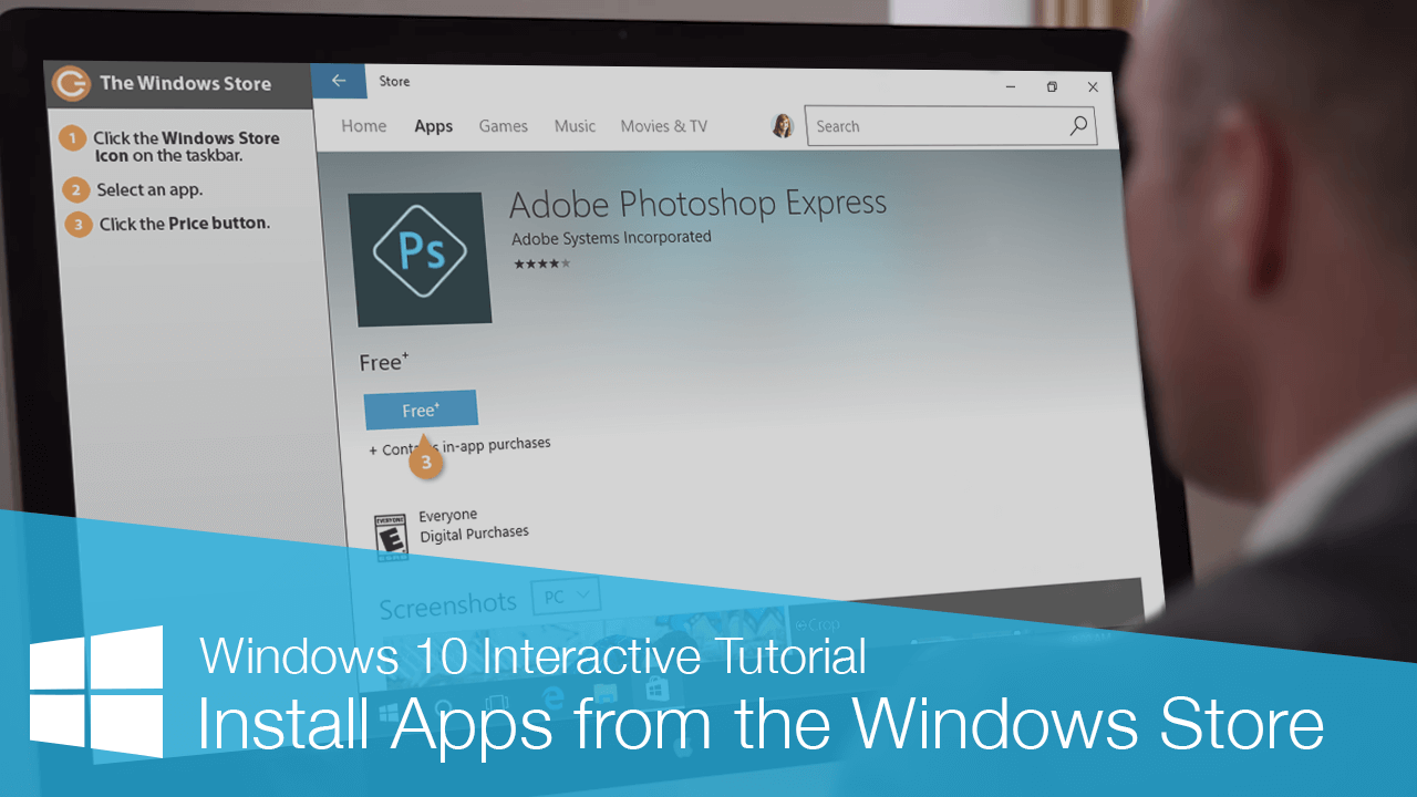 Install Apps from the Windows Store
