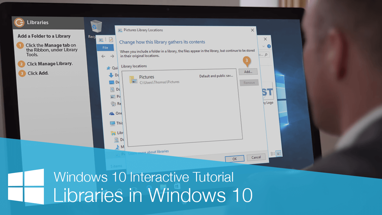 Libraries in Windows 10