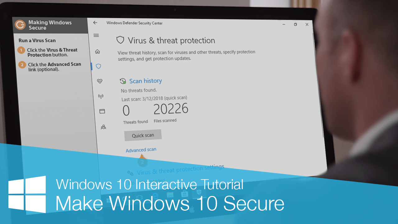 Make Windows 10 Secure