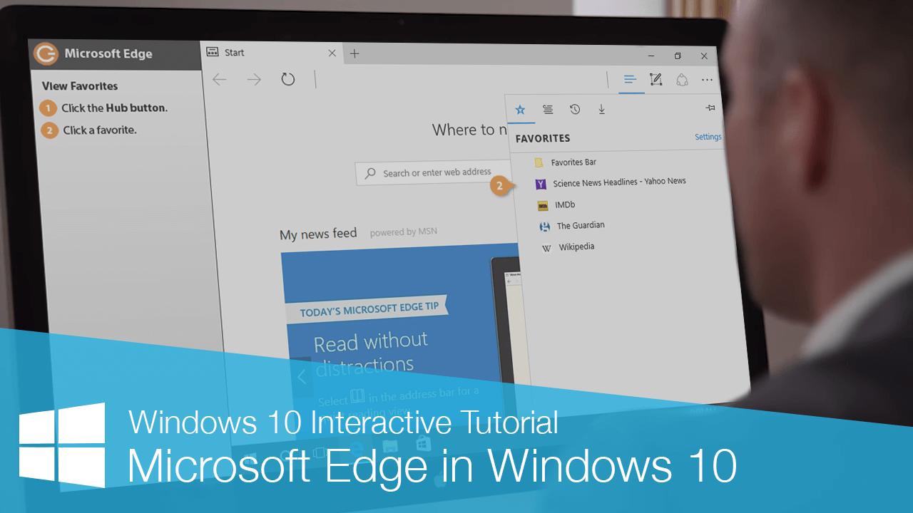 Microsoft Edge in Windows 10