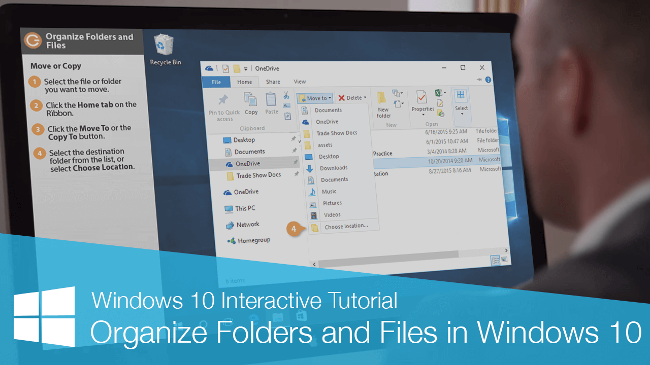 Organize Folders and Files in Windows 10