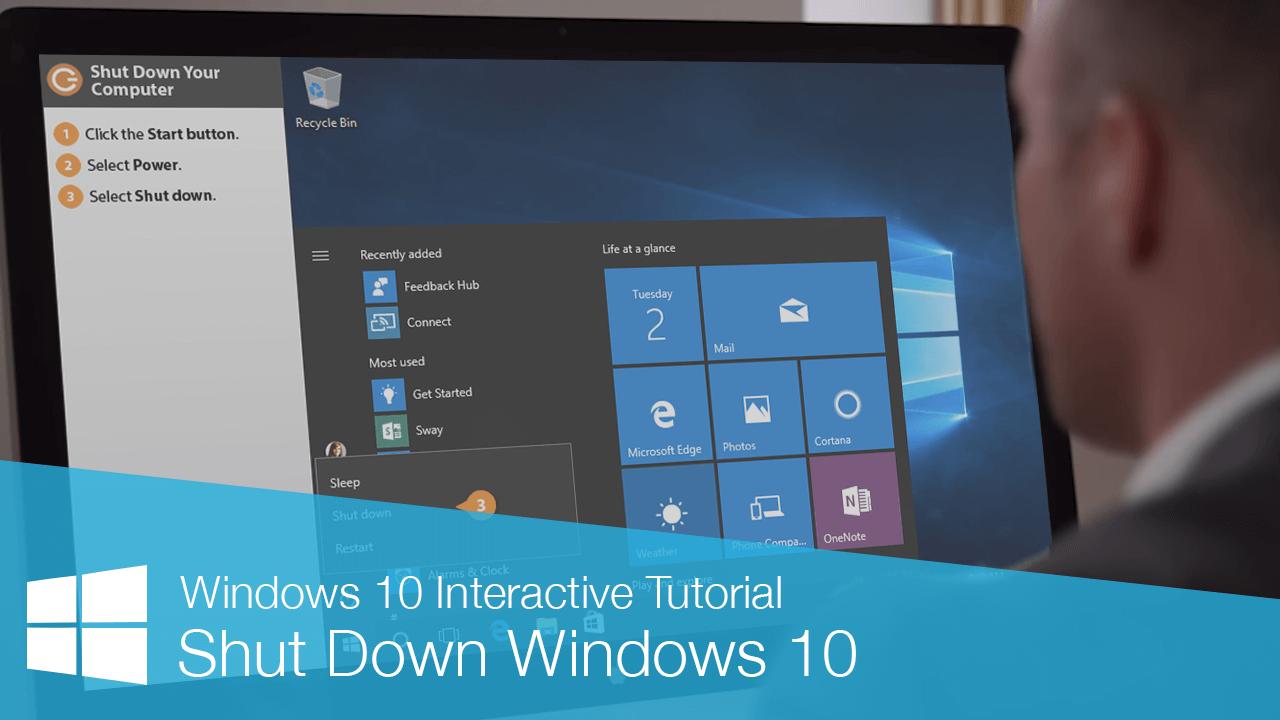 Shut Down Windows 10