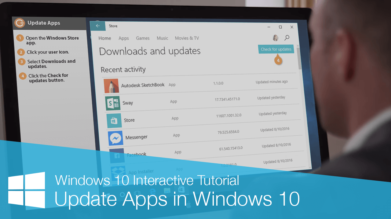 Update Apps in Windows 10