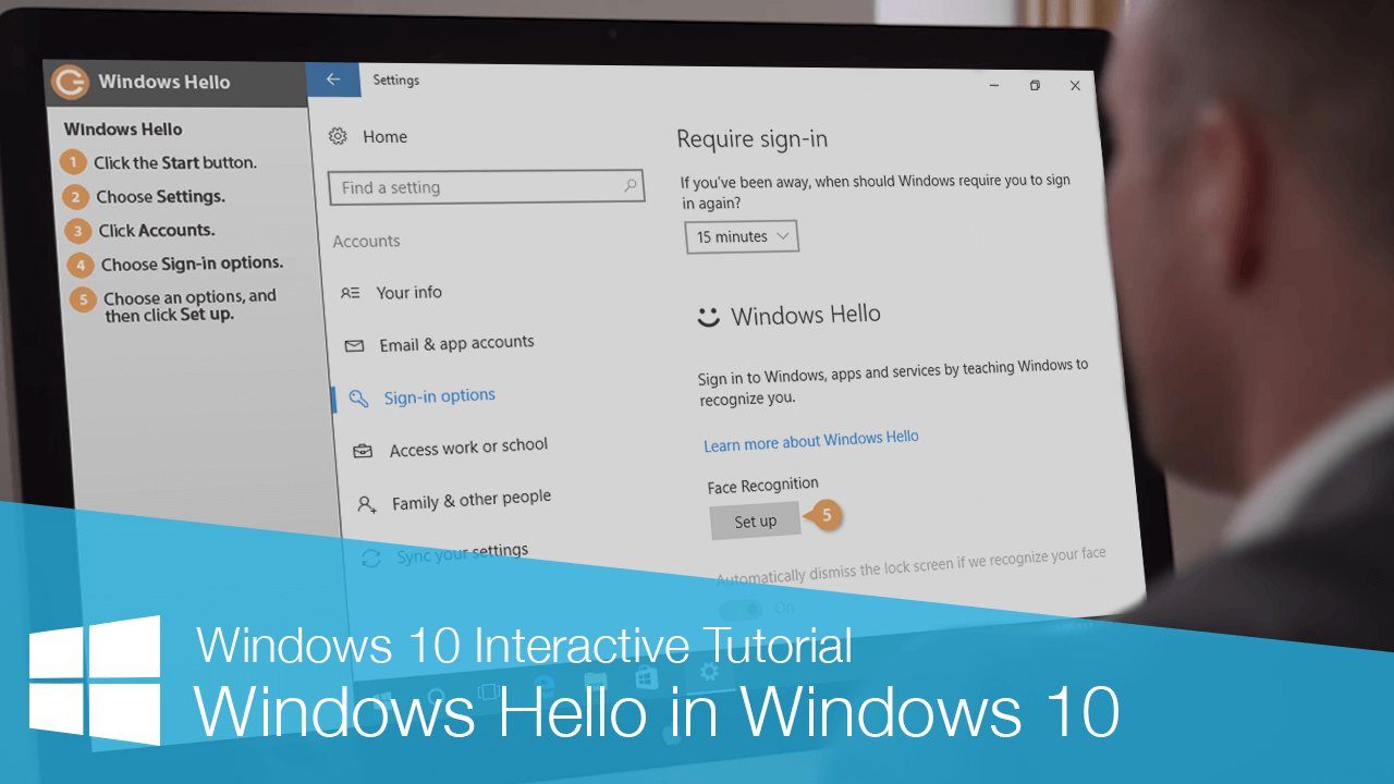 Windows Hello in Windows 10