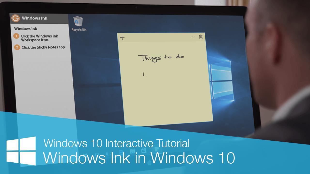 Windows Ink in Windows 10