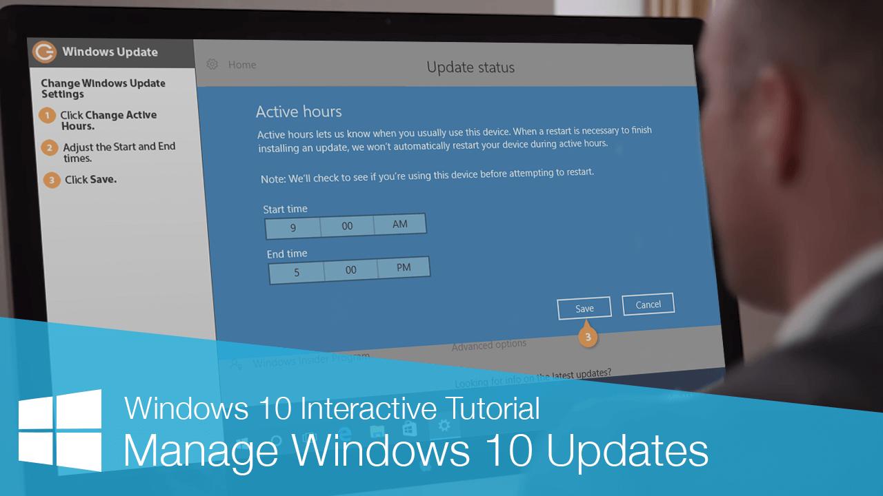 Manage Windows 10 Updates