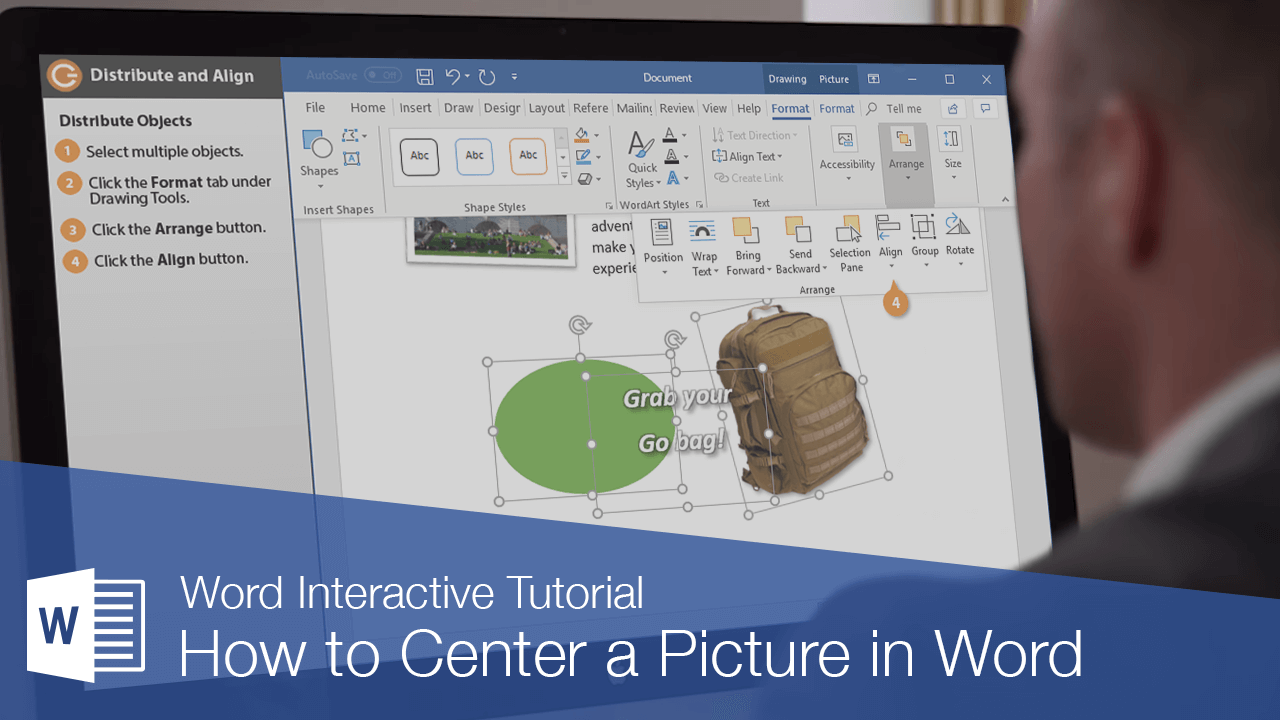 How to Center a Picture in Word