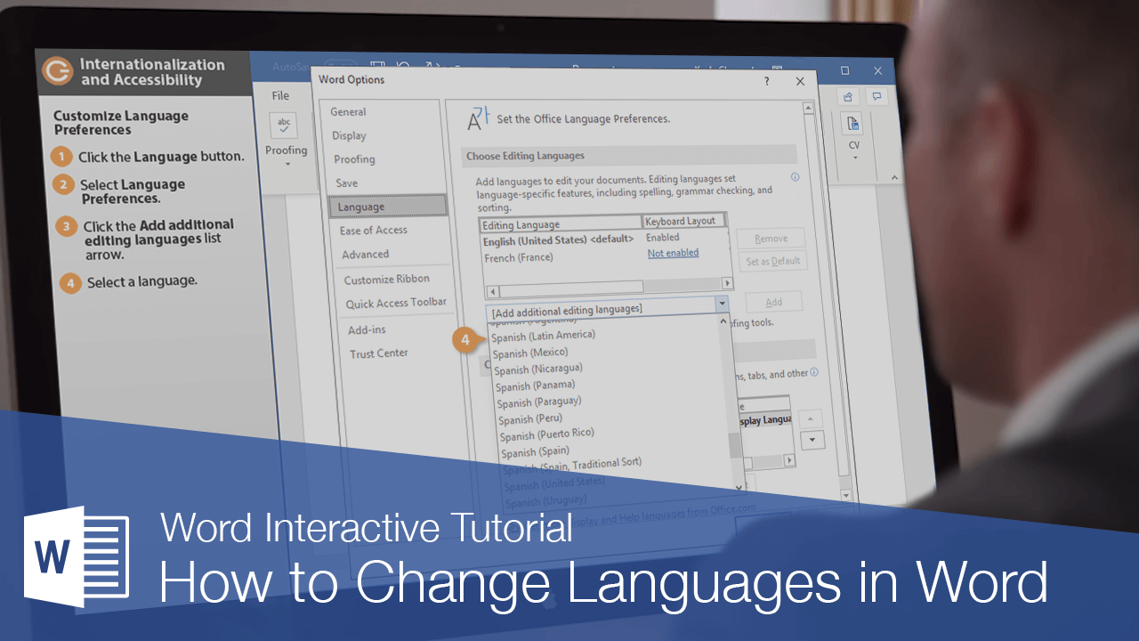 How to Change Languages in Word