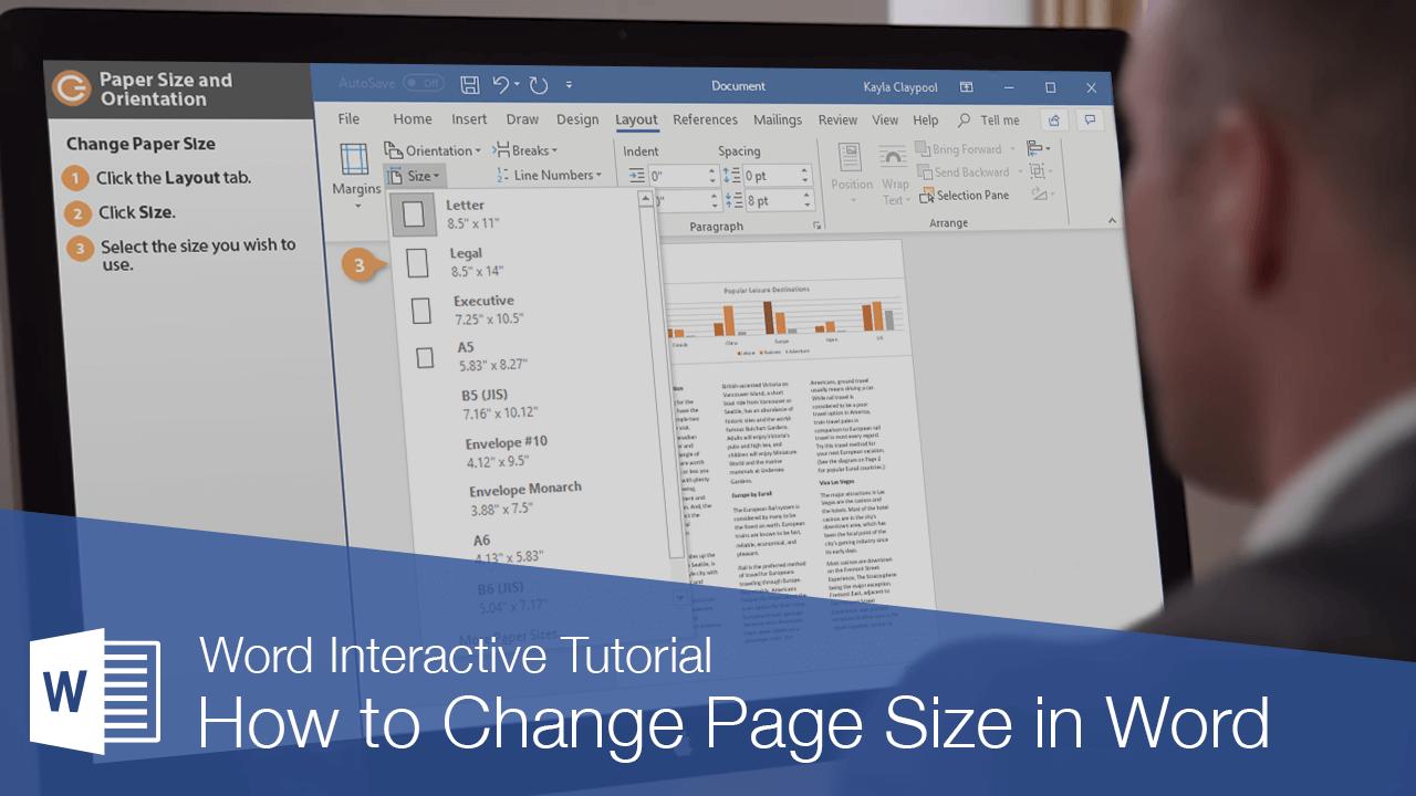 How to Change Page Size in Word