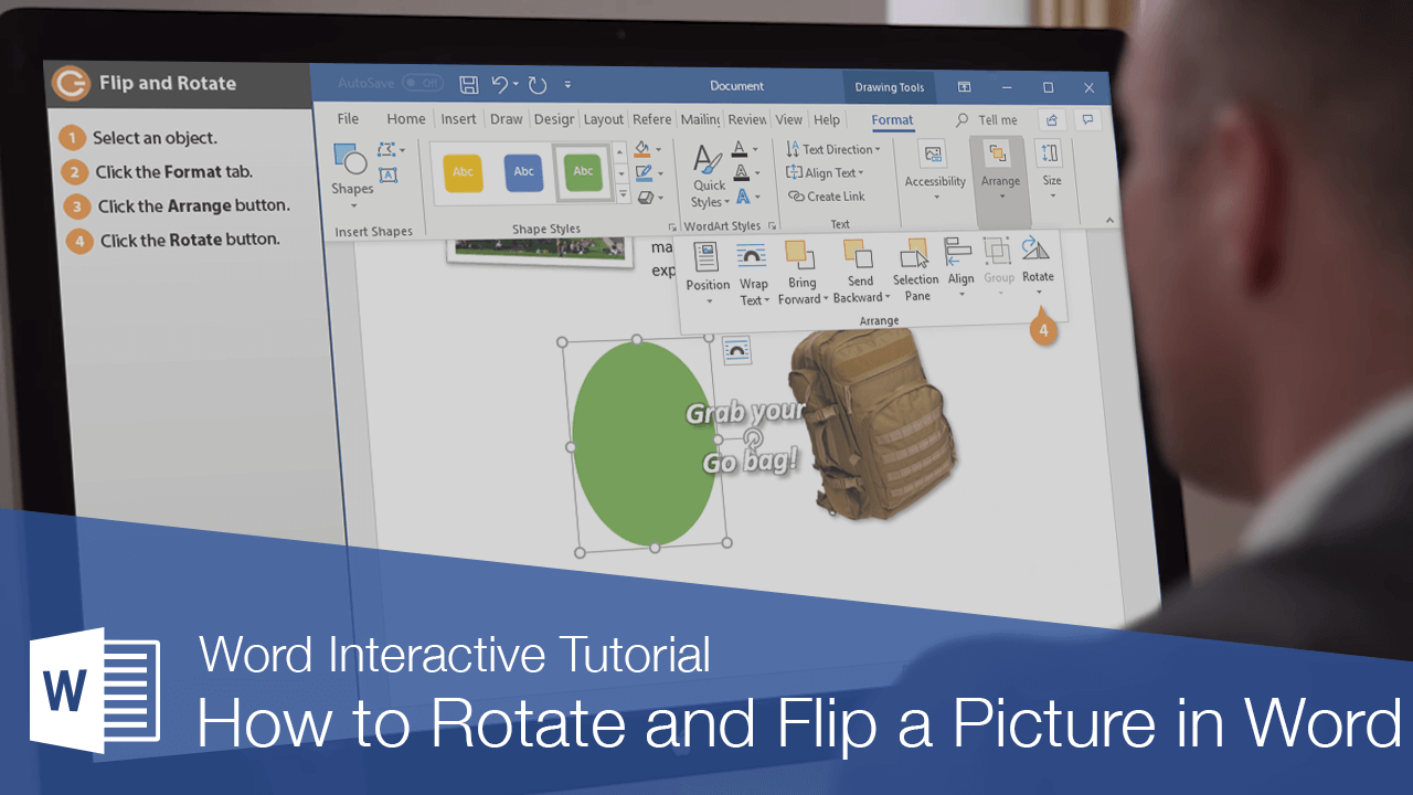 How to Rotate and Flip a Picture in Word