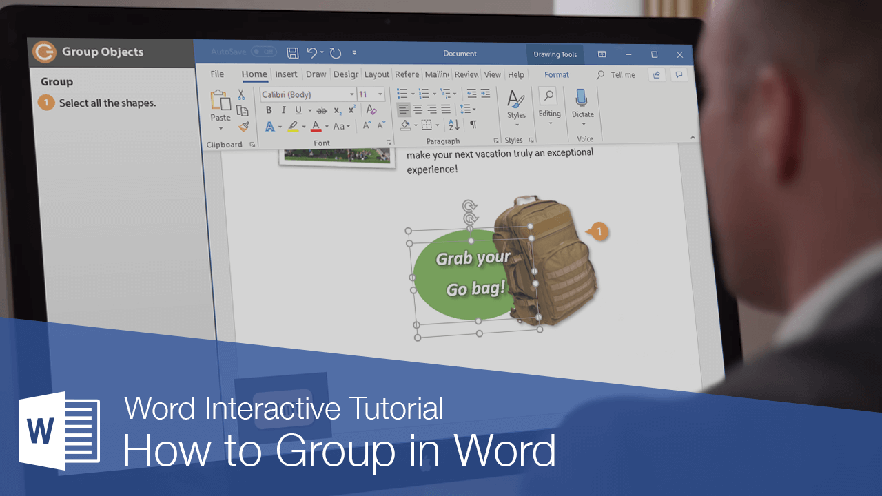 How to Group in Word