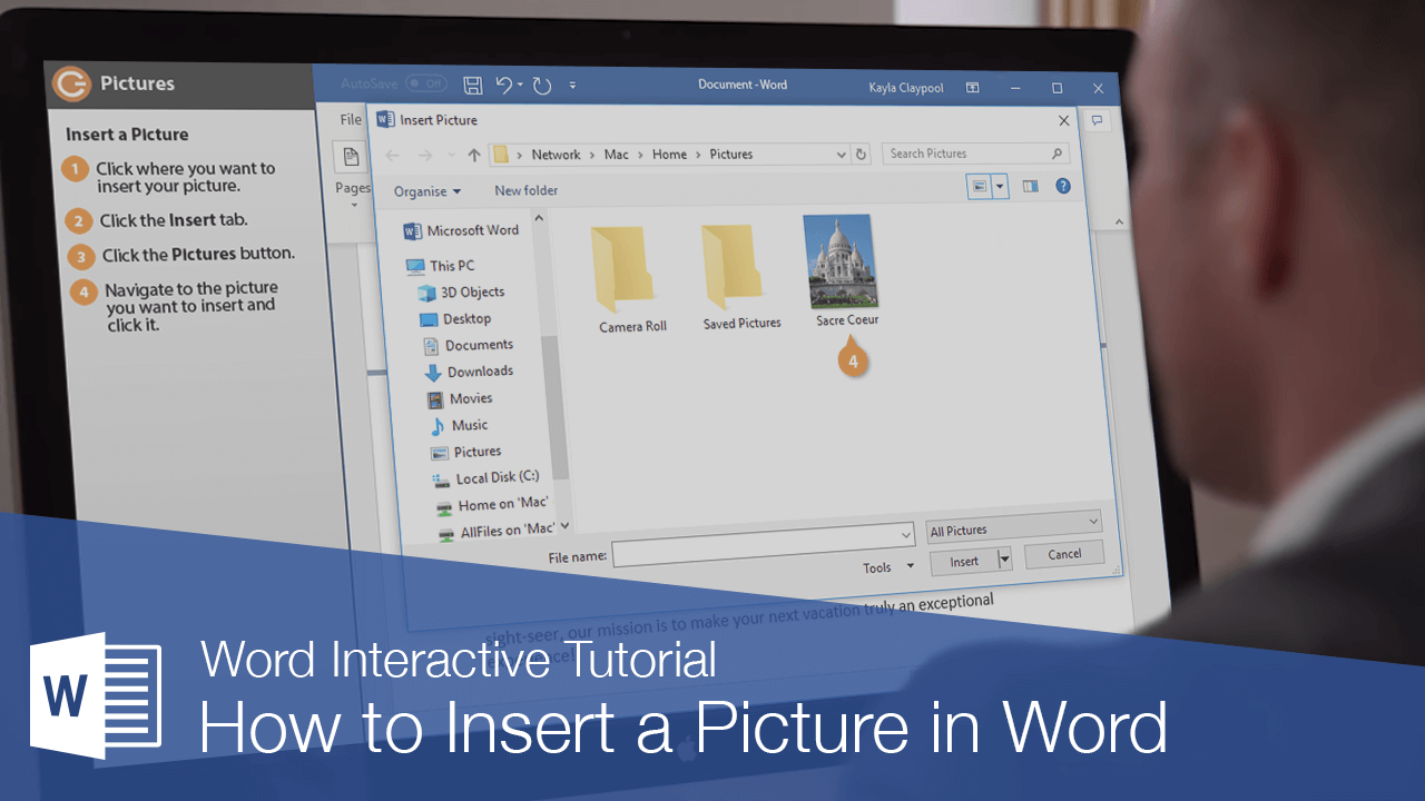 How to Insert a Picture in Word