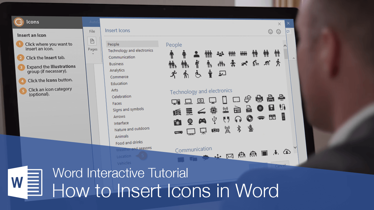 How to Insert Icons in Word