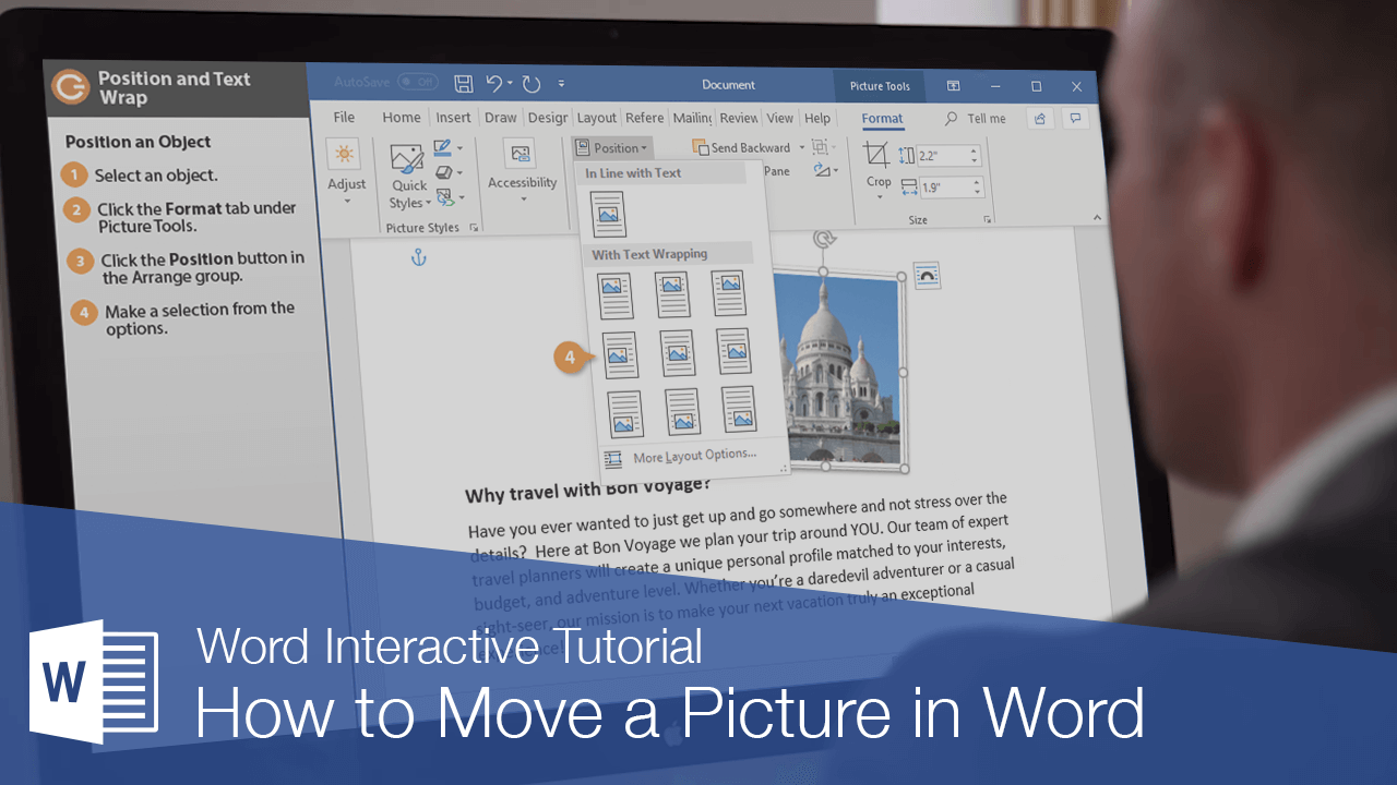 How to Move a Picture in Word
