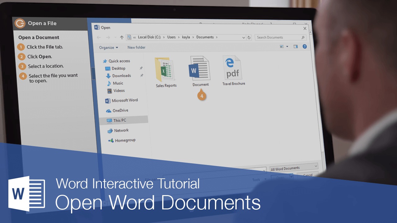 Open Word Documents