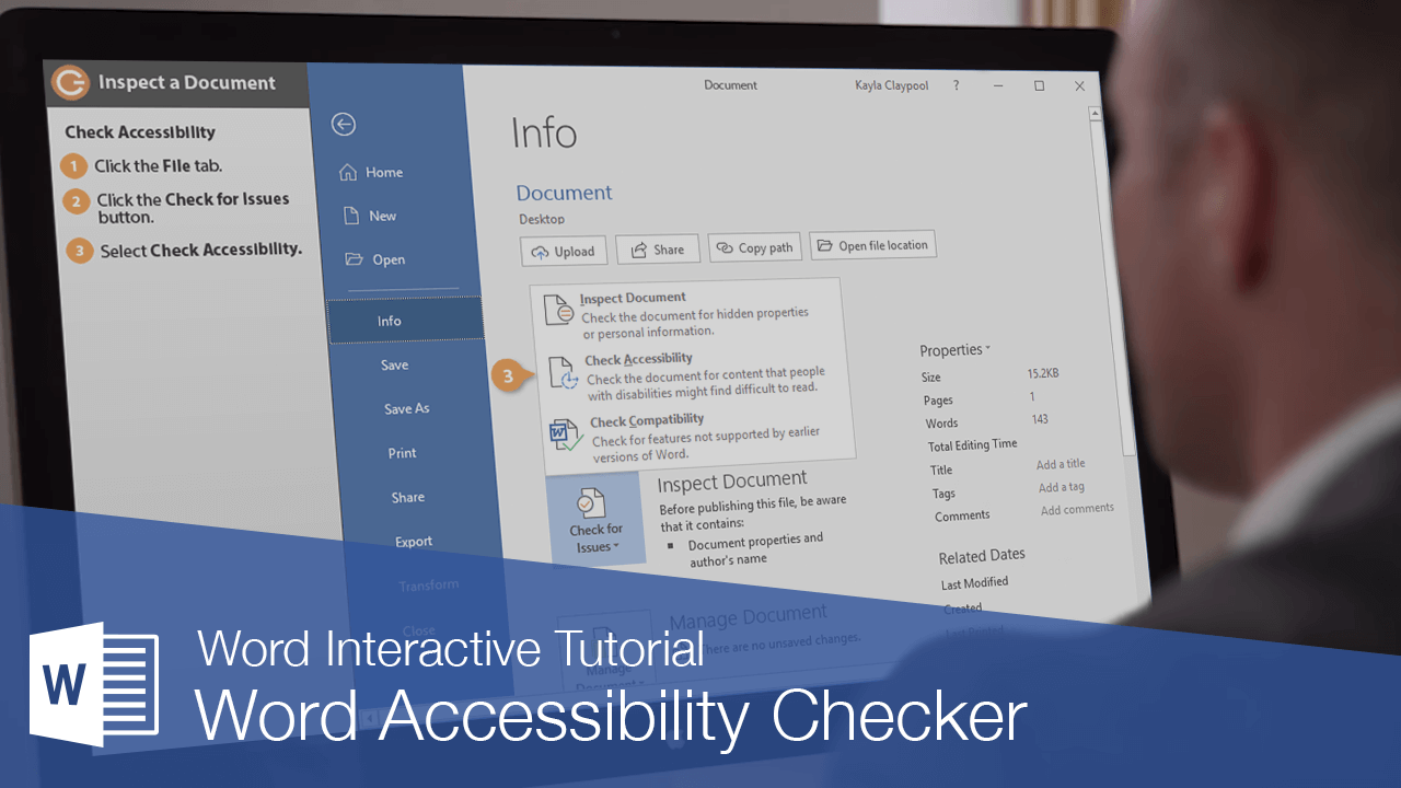 Word Accessibility Checker