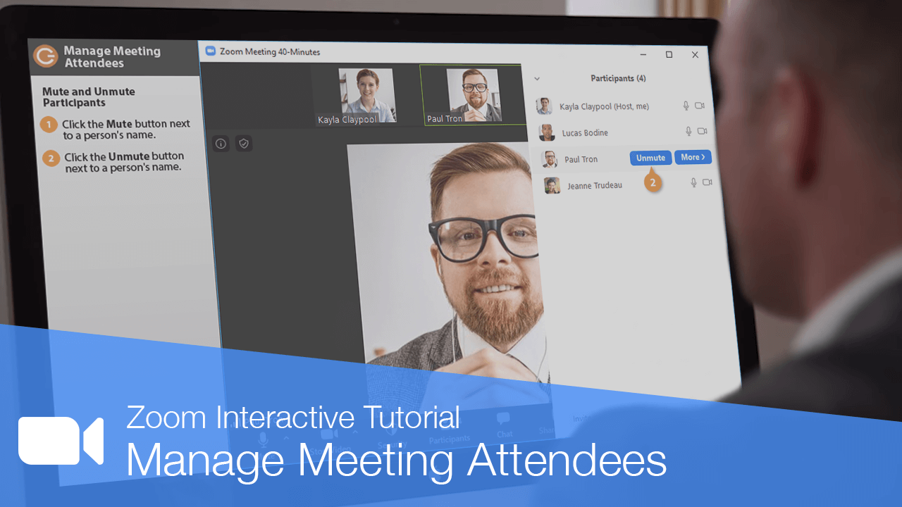 Manage Meeting Attendees