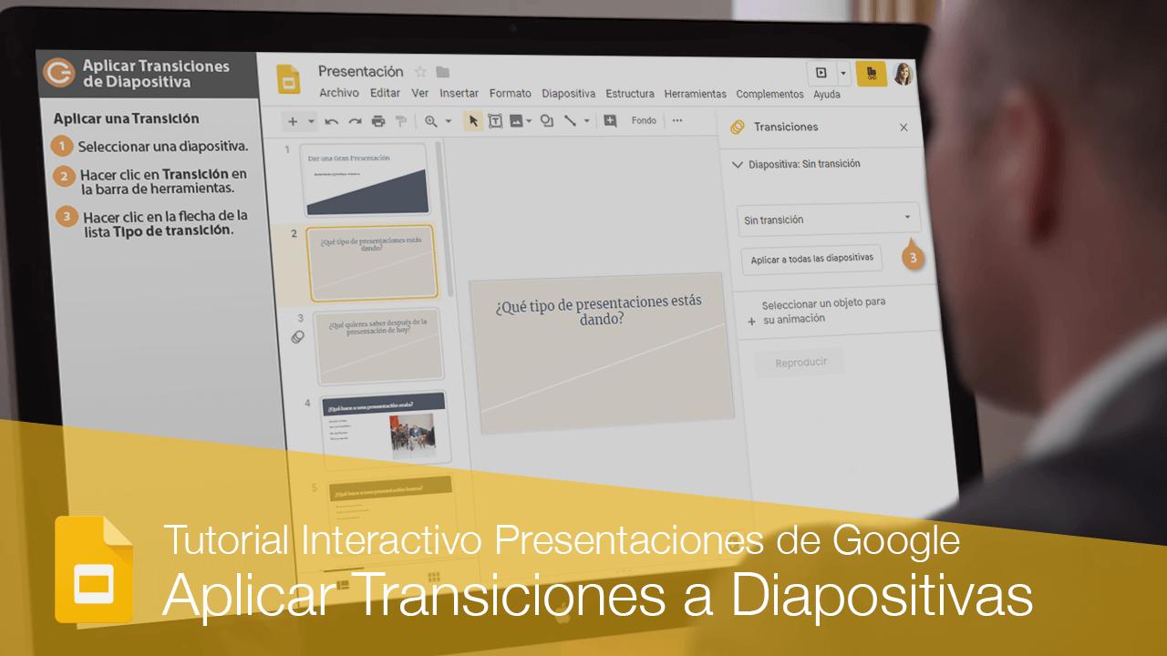 Aplicar Transiciones de Diapositivas