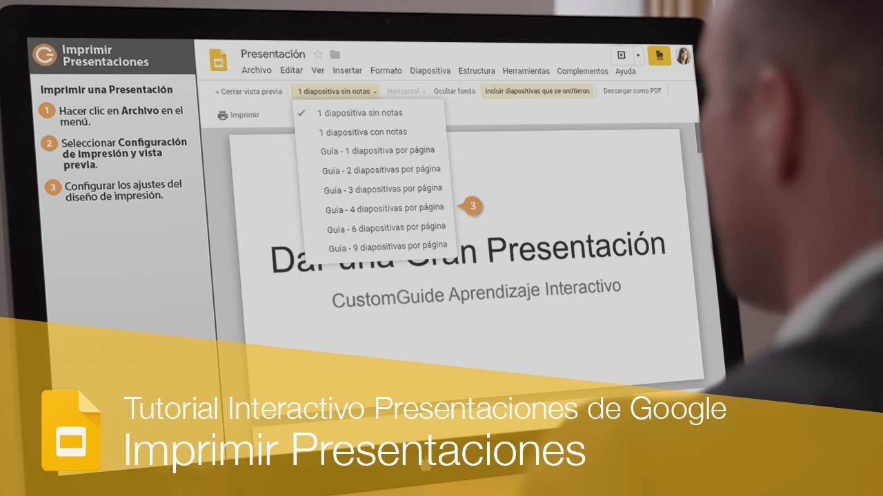Imprimir Presentaciones