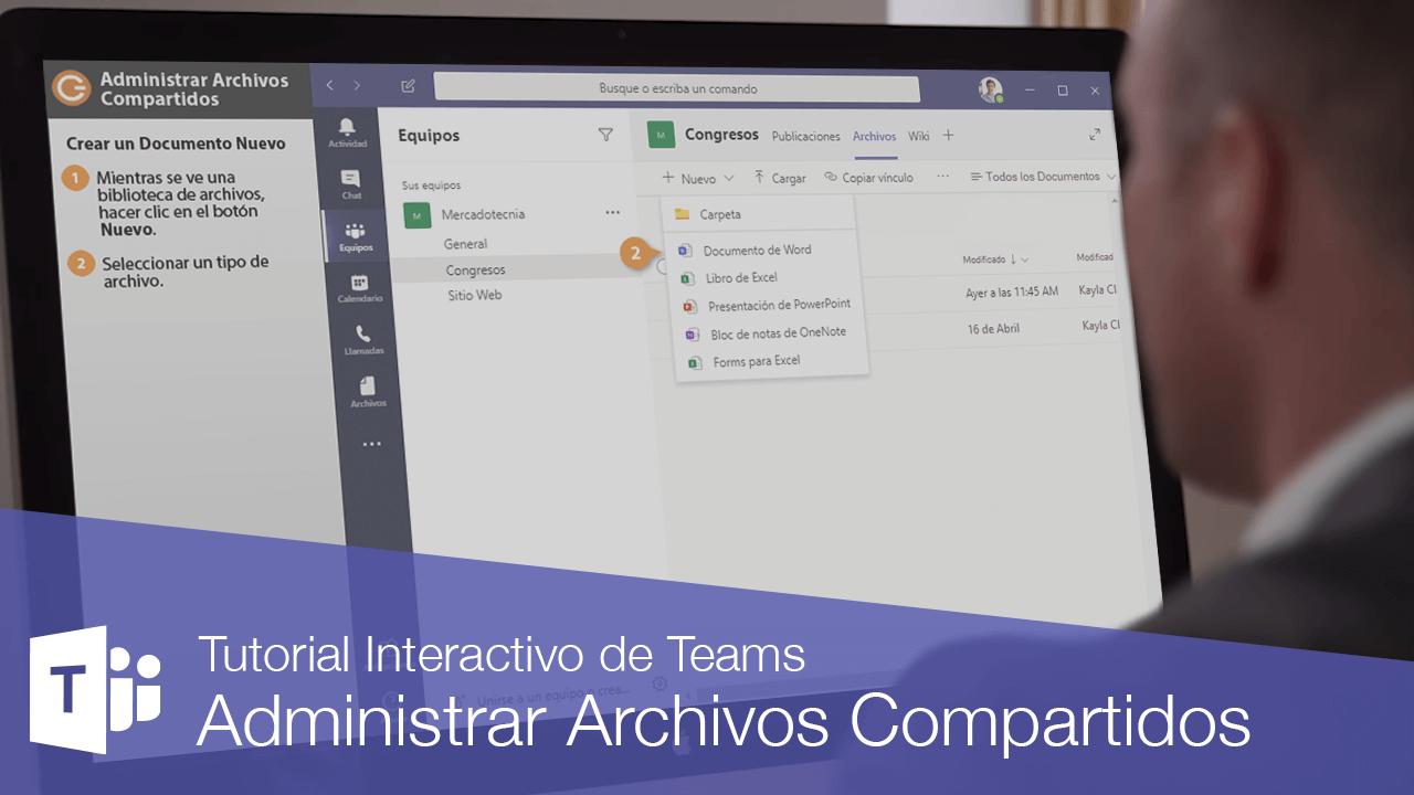 Administrar Archivos Compartidos