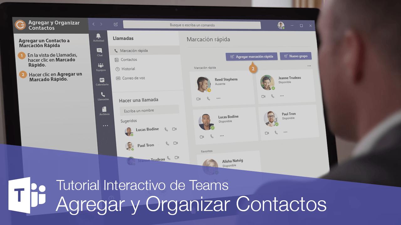 Agregar y Organizar Contactos