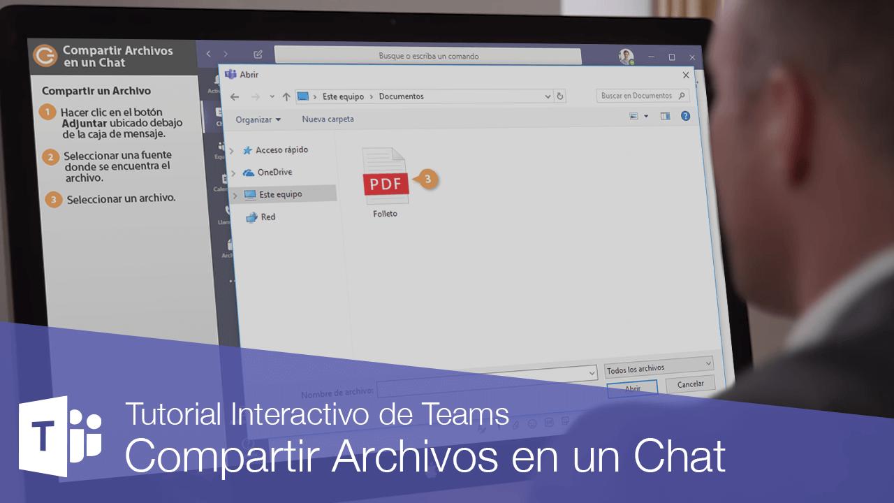 Compartir Archivos en un Chat