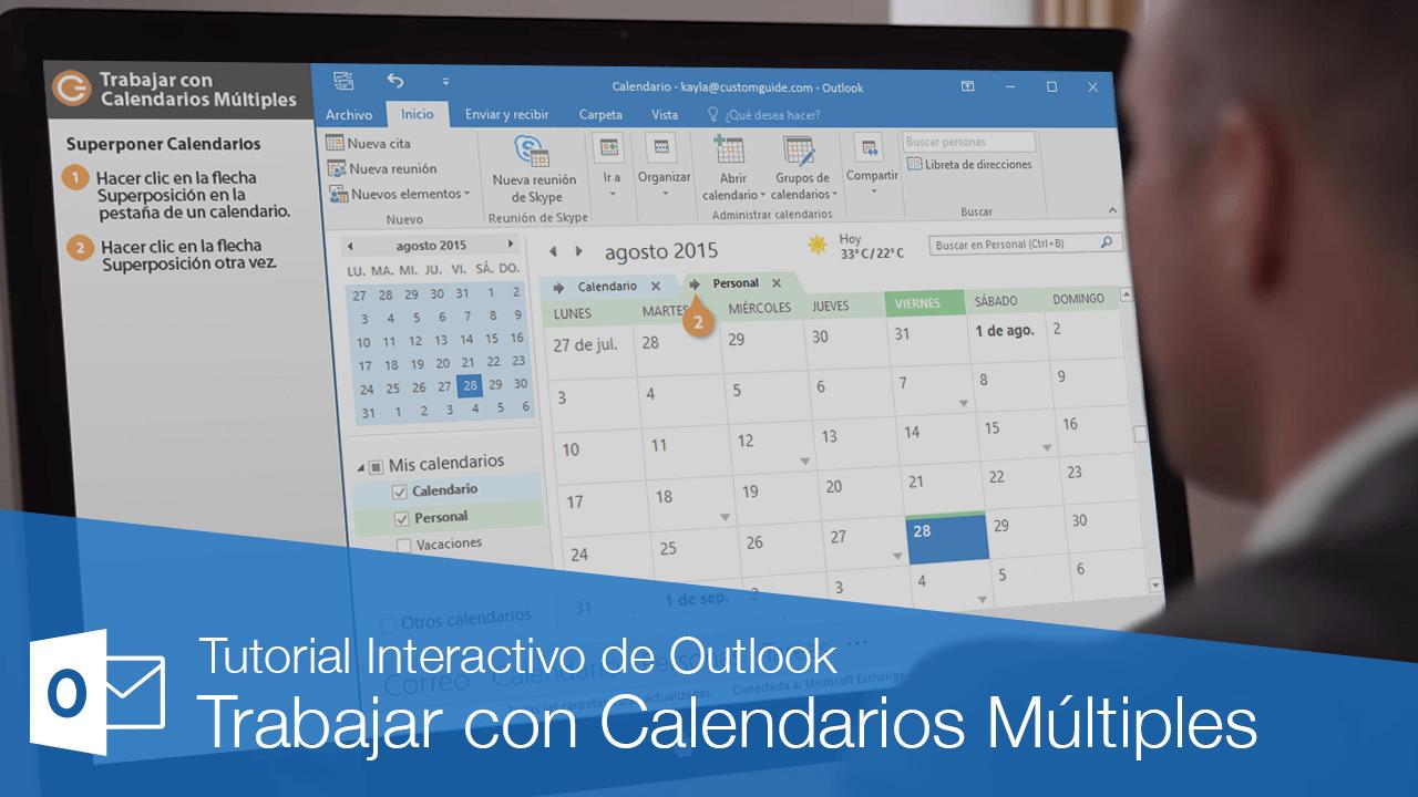 Trabajar con Calendarios Múltiples