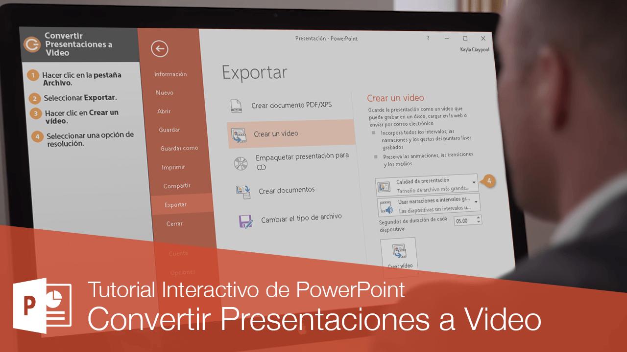 Convertir Presentaciones a Video