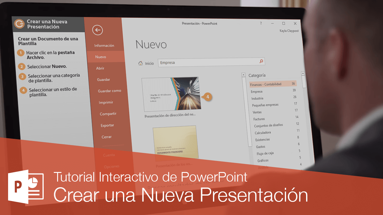 Crear una Nueva Presentación