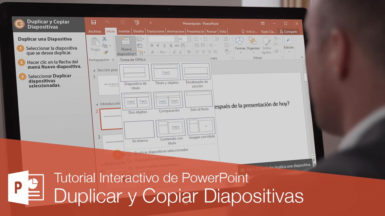 Duplicar y Copiar Diapositivas