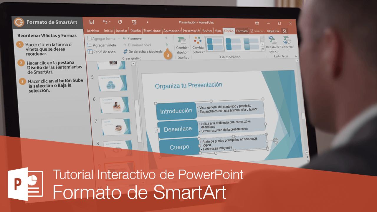 Formato de SmartArt