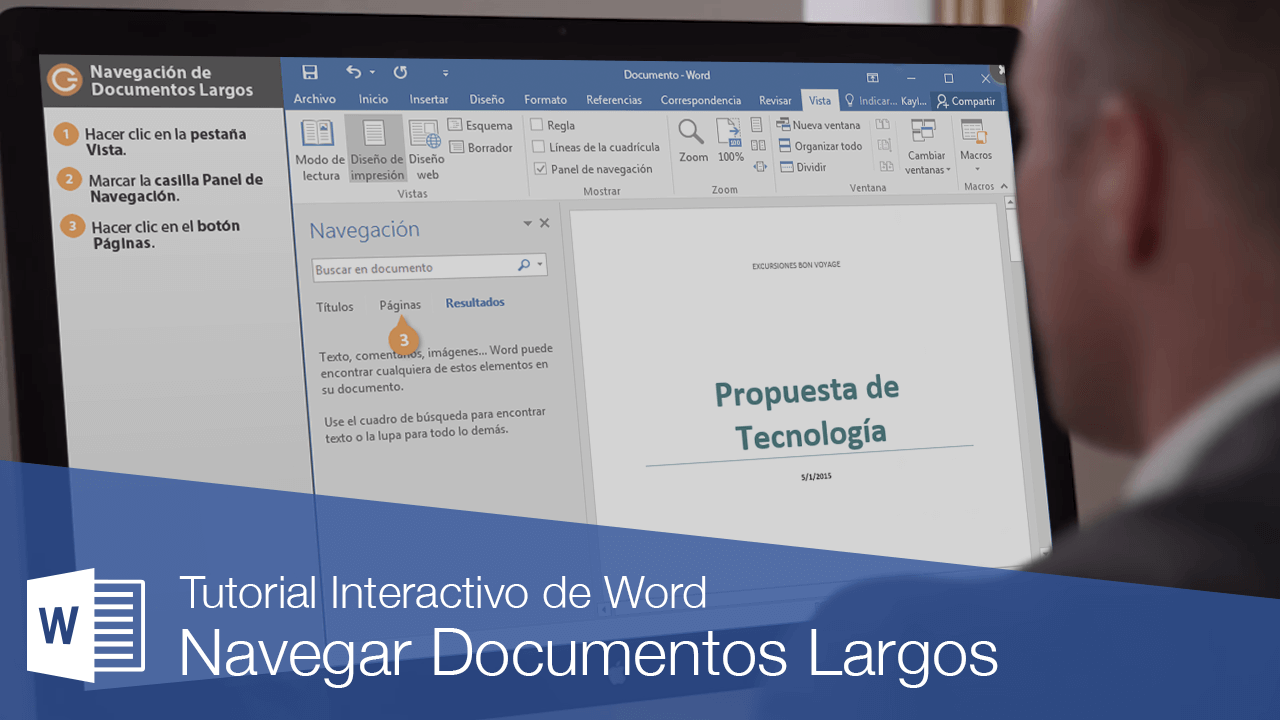 Navegar Documentos Largos