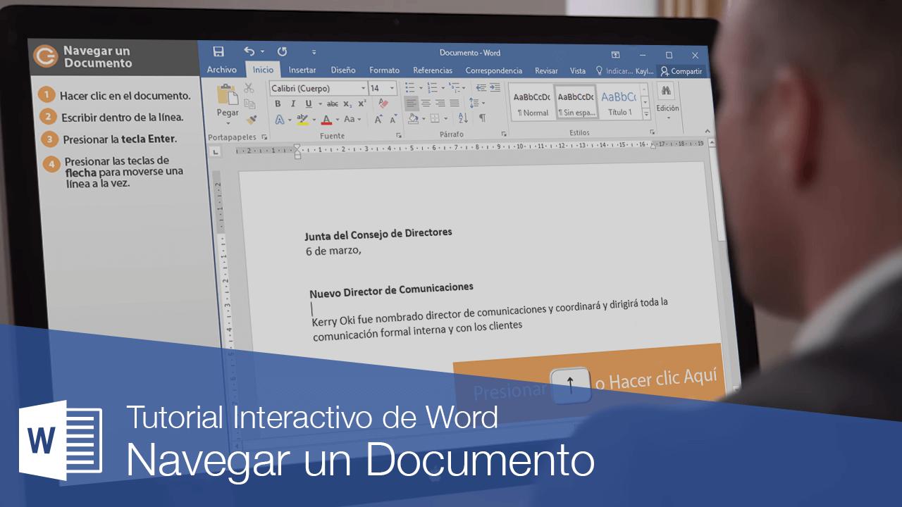 Navegar un Documento
